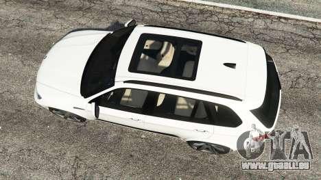 GTA 5 BMW X5 M Rückansicht