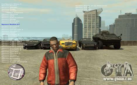 Native Trainer GTA EFLC ENG [STEAM] für GTA 4 dritte Screenshot