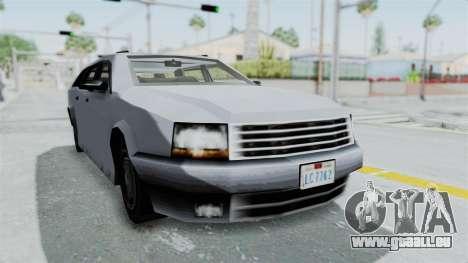 GTA LCS Sindacco Argento v2 pour GTA San Andreas vue de droite