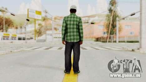 GTA 5 Families Gang Mamber 3 für GTA San Andreas dritten Screenshot