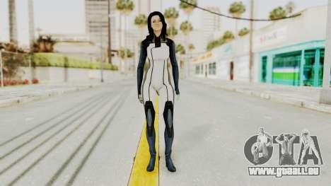 Mass Effect 3 Miranda in Evas Catsuit für GTA San Andreas zweiten Screenshot