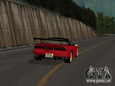Honda NSX (NA1) Time Attack pour GTA San Andreas vue de droite