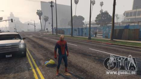 Amazing Spiderman pour GTA 5