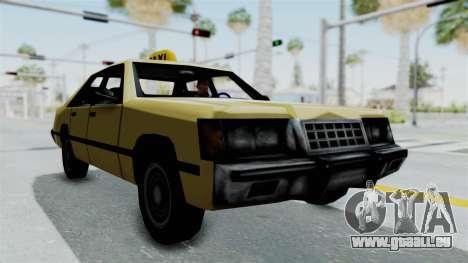 GTA Vice City - Taxi für GTA San Andreas zurück linke Ansicht