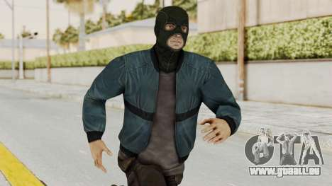 Wanted Weapons Of Fate Chicago Grunt Masked pour GTA San Andreas
