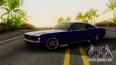 Ford Mustang Fast_back pour GTA San Andreas