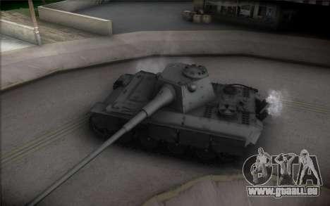 Panther II für GTA San Andreas Innenansicht