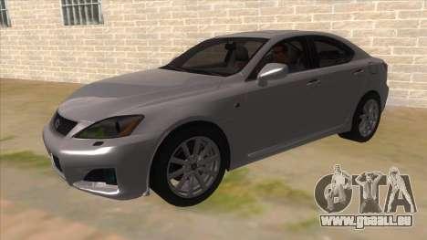Lexus ISF für GTA San Andreas