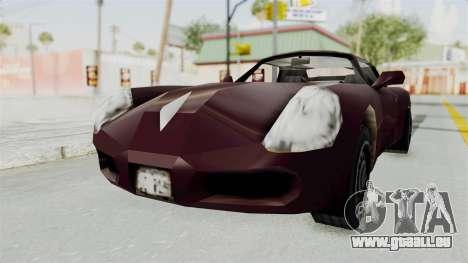 GTA 3 Stinger pour GTA San Andreas vue de droite