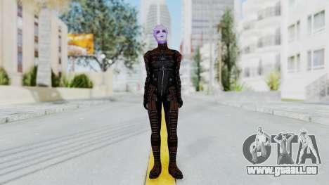 Mass Effect 1 Asari Shiala Commando pour GTA San Andreas deuxième écran