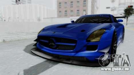 Mercedes-Benz SLS AMG GT3 PJ5 pour GTA San Andreas vue de droite