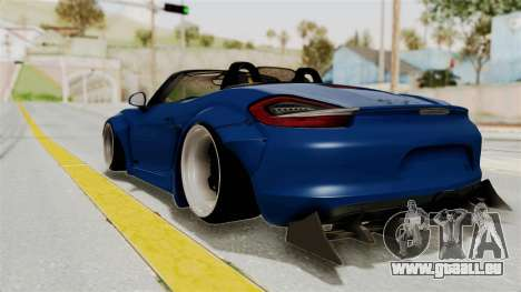 Porsche Boxster Liberty Walk für GTA San Andreas linke Ansicht