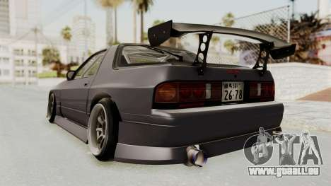 Mazda RX-7 1990 (FC3S) Cordelia Glauca Itasha pour GTA San Andreas laissé vue
