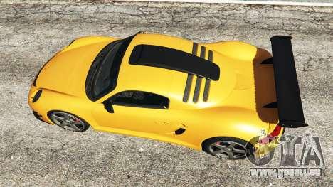 GTA 5 Ruf CTR3 v1.1 vue arrière