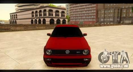 Volkswagen Golf GTI Mk2 pour GTA San Andreas vue de côté