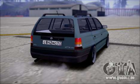 Opel Astra pour GTA San Andreas sur la vue arrière gauche