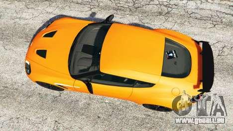 GTA 5 Aston Martin V12 Zagato v1.2 vue arrière