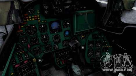 Mi-24V Soviet Air Force 14 pour GTA San Andreas vue de droite