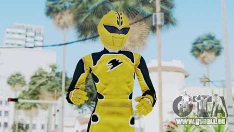 Power Rangers Jungle Fury - Yellow pour GTA San Andreas