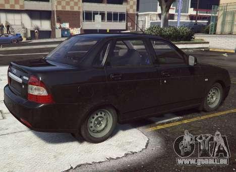 GTA 5 VAZ 2170 arrière droit vue de côté