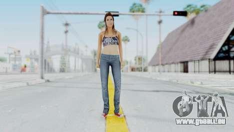 GTA 5 Liz (Elisa Macallen) pour GTA San Andreas deuxième écran