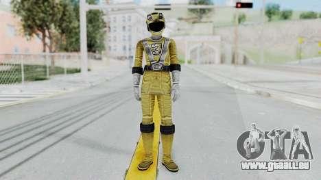 Power Rangers RPM - Yellow pour GTA San Andreas deuxième écran