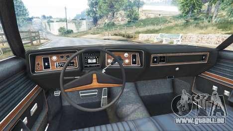 GTA 5 Oldsmobile Delta 88 1973 v2.0 hinten rechts