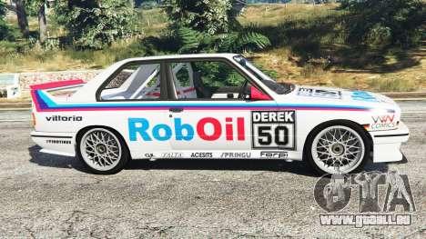GTA 5 BMW M3 (E30) 1991 v1.3 linke Seitenansicht