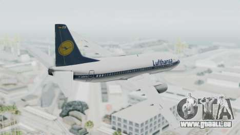 Boeing 737-300 pour GTA San Andreas laissé vue