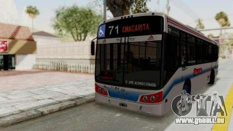 Todo Bus Pompeya II Agrale MT15 Linea 71 pour GTA San Andreas