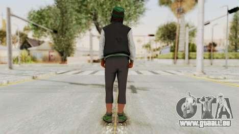 GTA 5 Families Gang Mamber 2 für GTA San Andreas dritten Screenshot