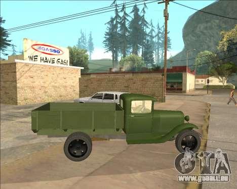 GAZ AA Camion pour GTA San Andreas laissé vue