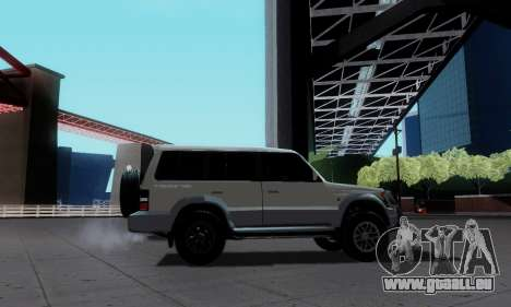 Mitsubishi Pajero 2 für GTA San Andreas zurück linke Ansicht
