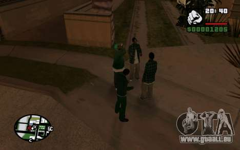 CJ Animation ped für GTA San Andreas zweiten Screenshot
