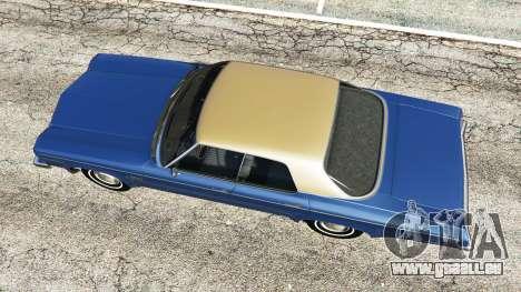 GTA 5 Oldsmobile Delta 88 1973 v2.0 Rückansicht