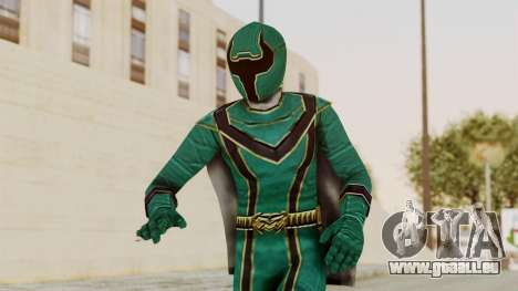 Power Rangers Mystic Force - Green für GTA San Andreas