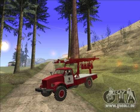 GAZ 63 APG-14 camion de pompiers pour GTA San Andreas