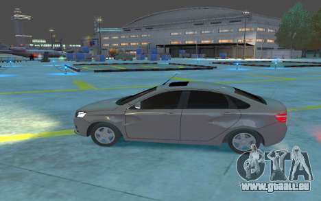 Lada Vesta pour GTA 4 est une gauche