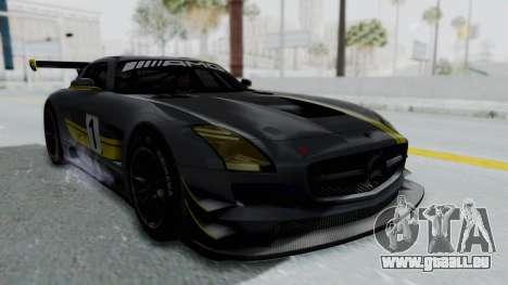 Mercedes-Benz SLS AMG GT3 PJ5 pour GTA San Andreas moteur