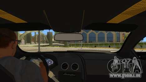 Lamborghini Reventon Monster Truck für GTA San Andreas Innenansicht
