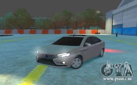 Lada Vesta pour GTA 4