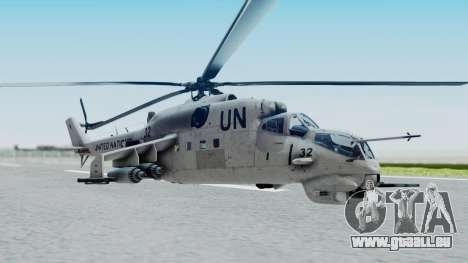 Mi-24V United Nations 032 pour GTA San Andreas