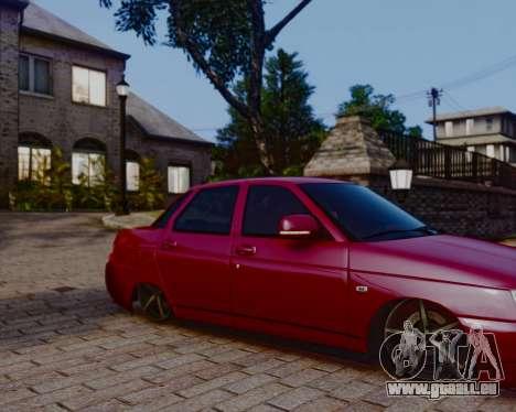 VAZ 2110 für GTA 4 linke Ansicht