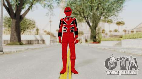Power Rangers Jungle Fury - Red für GTA San Andreas zweiten Screenshot