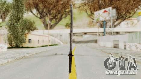 Skyrim Iron Wakizashi für GTA San Andreas