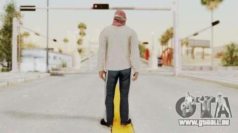 Middle East Insurgent v1 pour GTA San Andreas troisième écran