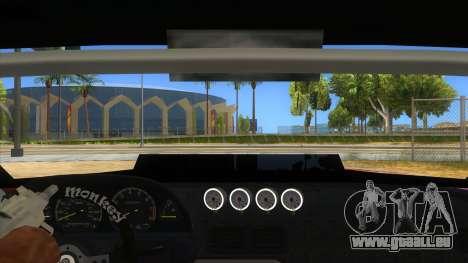 Elegy Tio Sam Style für GTA San Andreas Innenansicht