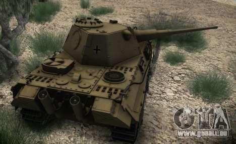 Panther II pour GTA San Andreas vue de droite