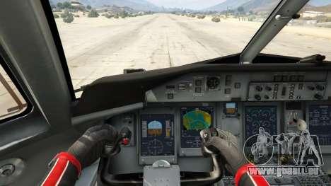 GTA 5 Bombardier Dash 8Q-400 quatrième capture d'écran