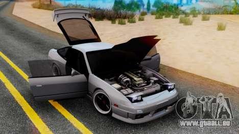 Nissan 180SX Type X pour GTA San Andreas laissé vue